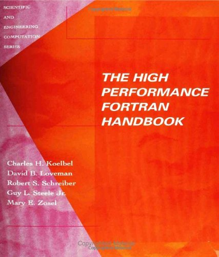 The high performance Fortran handbook.: Koelbel, Charles H., David B. Loveman, Robert S. Schreiber,...