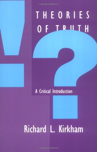 9780262611084: Theories of Truth: A Critical Introduction
