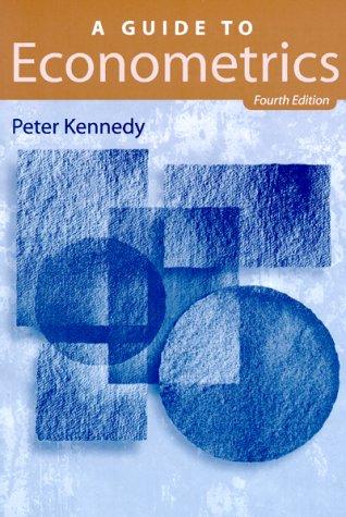 9780262611404: A Guide to Econometrics - 4th Edition