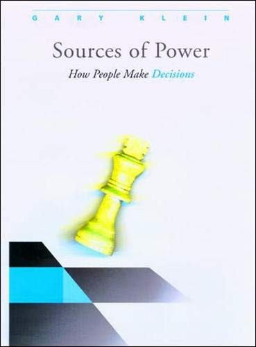 9780262611466: Sources of Power: How People Make Decisions