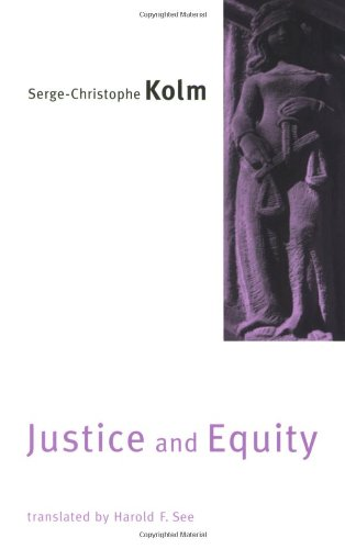 9780262611794: Justice and Equity