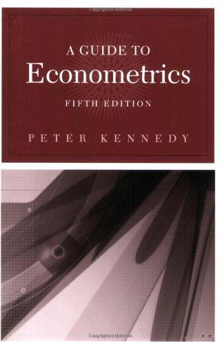 9780262611831: A Guide to Econometrics