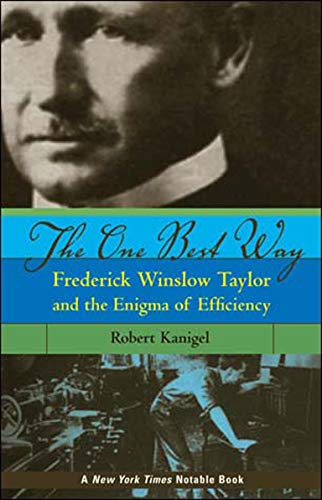 9780262612067: The One Best Way: Frederick Winslow Taylor and the Enigma of Efficiency (MIT Press)