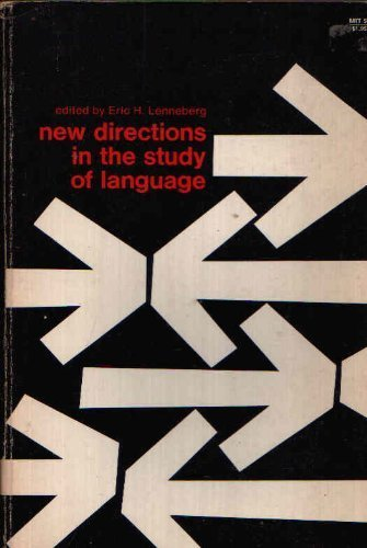 9780262620055: New Directions in the Study of Language