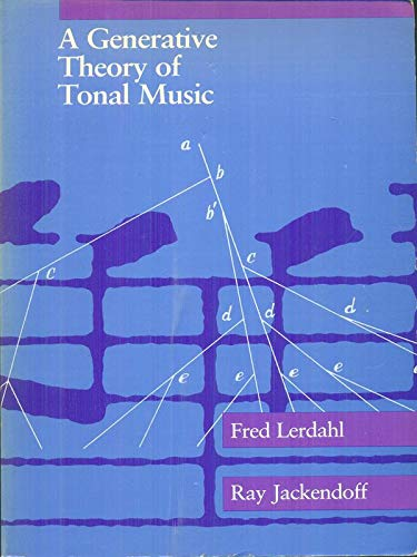 9780262620499: A Generative Theory of Tonal Music