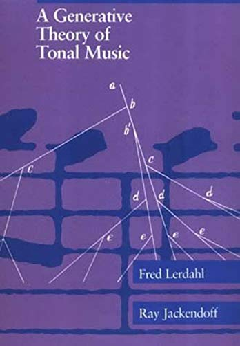 9780262621076: A Generative Theory of Tonal Music
