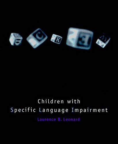 9780262621366: Children with Specific Language Impairment (Language, Speech, and Communication)