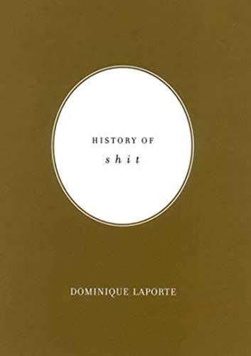 9780262621601: History of Shit