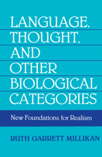 9780262631150: Language, Thought, and Other Biological Categories: New Foundations for Realism