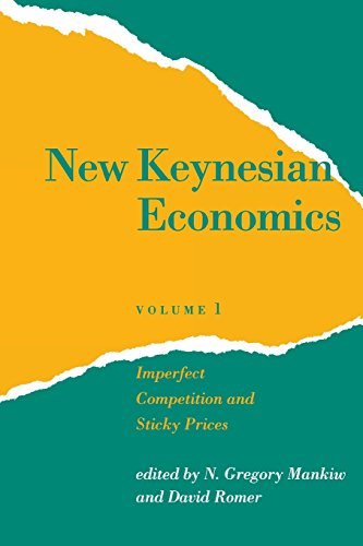9780262631334: New Keynesian Economics, Vol. 1: Imperfect Competition and Sticky Prices (Readings in Economics)