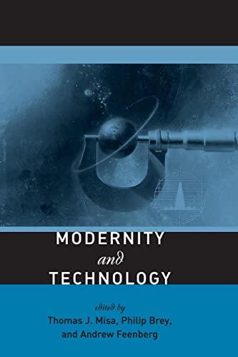 9780262633109: Modernity and Technology (MIT Press)
