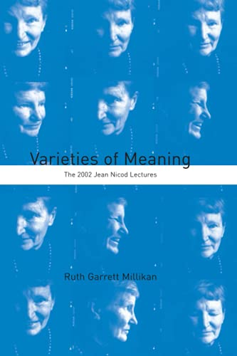 9780262633420: Varieties of Meaning: The 2002 Jean Nicod Lectures