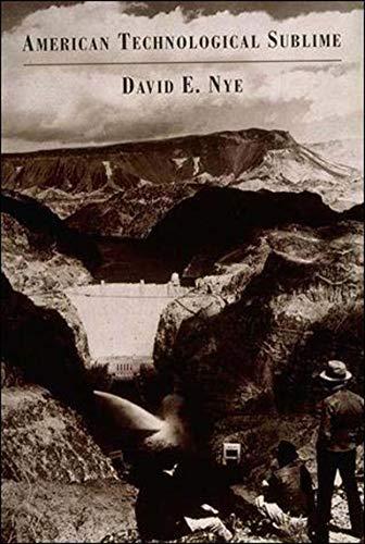 American Technological Sublime: Nye, David E.
