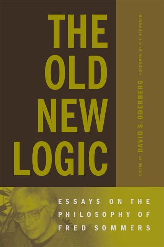 9780262651066: The Old New Logic: Essays on the Philosophy of Fred Sommers (Bradford Books)
