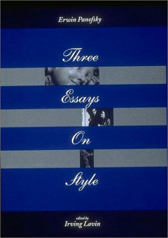 9780262661034: Three Essays on Style