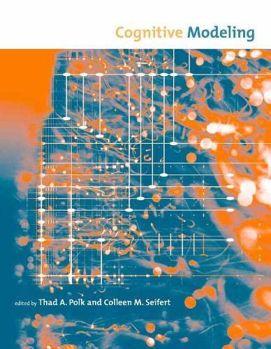 Cognitive Modeling (Paperback)