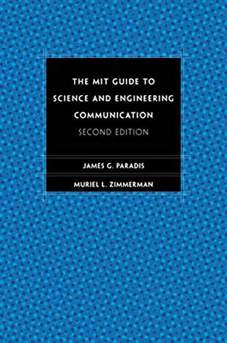 9780262661270: The MIT Guide to Science and Engineering Communication: Second Edition