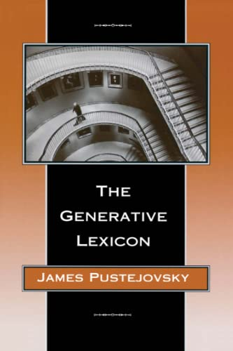 9780262661409: Generative Lexicon (Language, Speech and Communication)