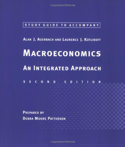 9780262661461: Study Guide to Accompany Macroeconomics - 2nd Edition: An Integrated Approach
