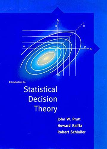 9780262662062: Introduction to Statistical Decision Theory (MIT Press)