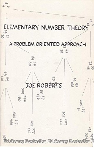 9780262680288: Elementary Number Theory: A Problem Oriented Approach