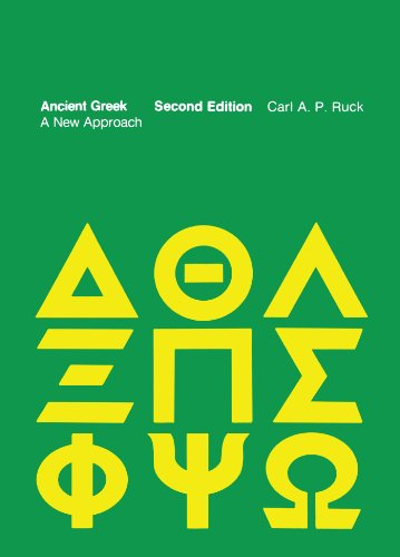 9780262680318: Ancient Greek: A New Approach