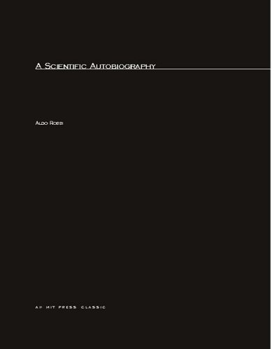 9780262680417: A Scientific Autobiography