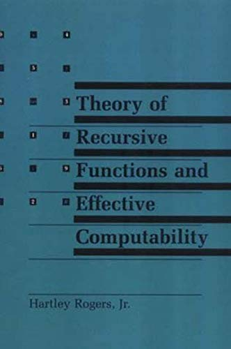 9780262680523: Theory of Recursive Functions and Effective Computability