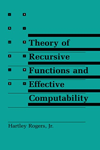 9780262680523: Theory of Recursive Functions and Effective Computability (MIT Press)