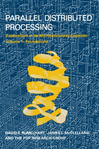 9780262680530: Parallel Distributed Processing, Vol. 1: Foundations