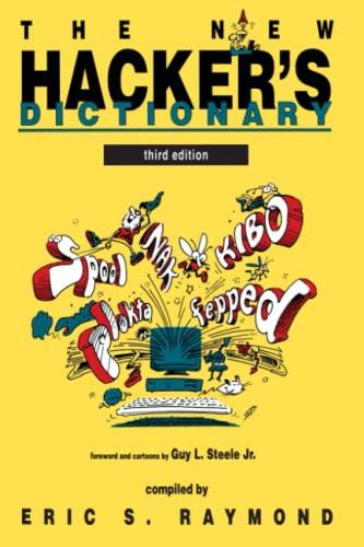 9780262680929: New Hacker's Dictionary (The New Hacker's Dictionary)