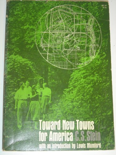 9780262690096: Toward New Towns for America