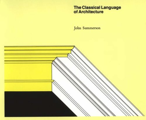 9780262690126: The Classical Language of Architecture (The MIT Press)