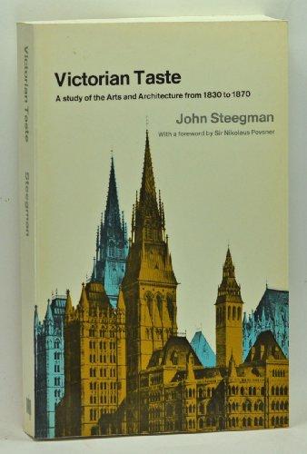 9780262690287: Steegman: Victorian Taste Arts Archite