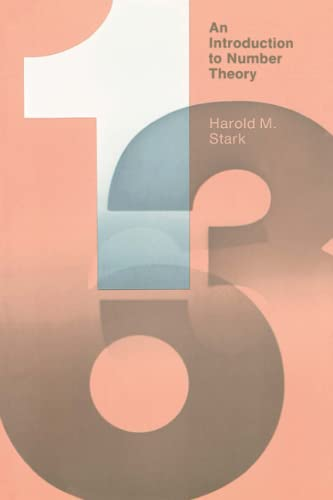 9780262690607: An Introduction to Number Theory (MIT Press) (The MIT Press)