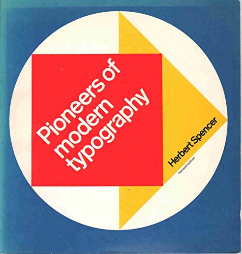 9780262690812: Pioneers of Modern Typography