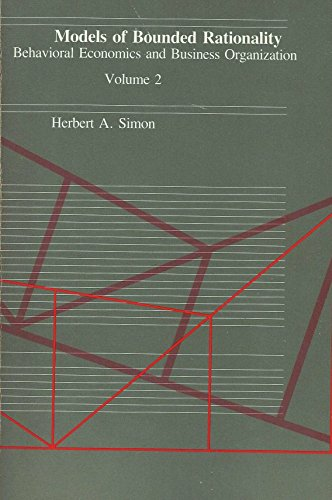 9780262690874: Models of Bounded Rationality, Volume 2: Behavioral Economics and Business Organization (v. 2)