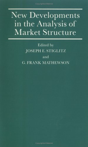 9780262690935: New Developments in the Analysis of Market Structure