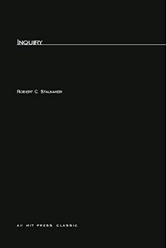 9780262691130: Inquiry