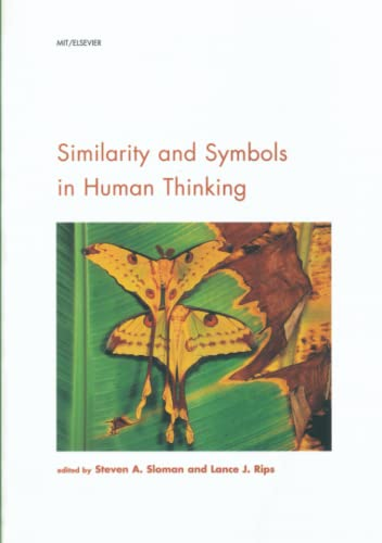 9780262692144: Similarity and Symbols in Human Thinking (Cognition Special Issue)