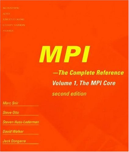 9780262692168: MPI: The Complete Reference (2-volume set)