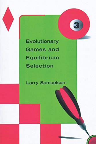 9780262692199: Evolutionary Games and Equilibrium Selection (Economic Learning and Social Evolution)