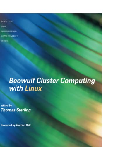 9780262692748: Beowulf Cluster Computing With Linux