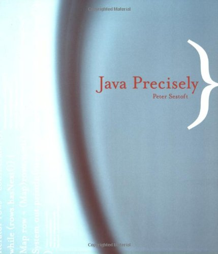 9780262692762: Java Precisely
