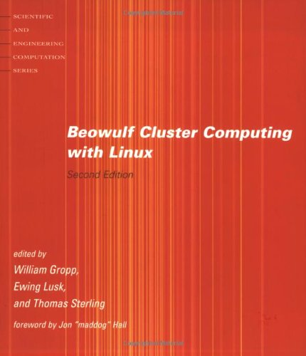 9780262692922: Beowulf Cluster Computing with Linux (Scientific and Engineering Computation)