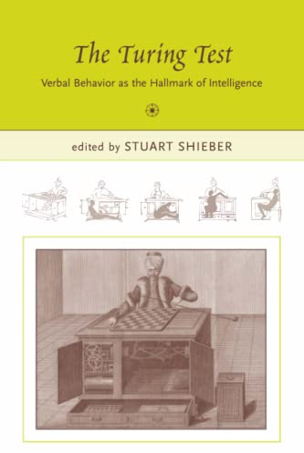 9780262692939: The Turing Test: Verbal Behavior as the Hallmark of Intelligence (Bradford Books)