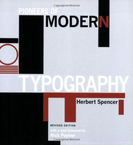 9780262693035: Pioneers of Modern Typography
