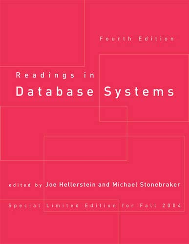 9780262693233: [(Readings in Database Systems)] [by: Joseph M. Hellerstein]