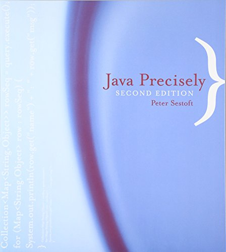 9780262693257: Java Precisely