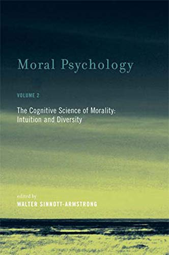 9780262693578: Moral Psychology: Cognitive Science of Morality: Intuition and Diversity v. 2 (Bradford Books)